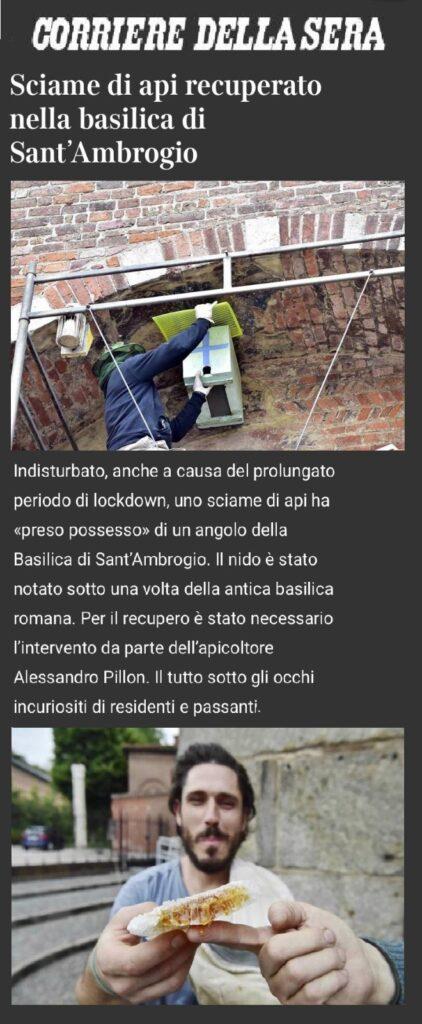 Giornali e Media 3 - recupero api milano